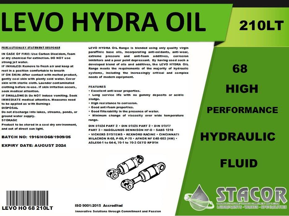 stacor hydra oil